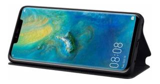 Capa Huawei Original Preta Wallet Cover Mate 20 Pro