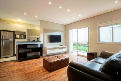 Imagem 1 de 10 de Apartamento Com 1 Dormitório Para Alugar, 140 M² Por R$ 4.000,00/mês - Jardim Leonor - São Paulo/sp - Ap15007