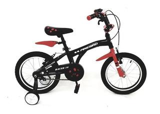 Bicicleta Nene Fire Bird Racer R16 Niño Maldonado Bike