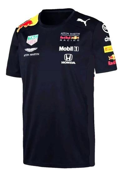 Remera Red Bull F1 2019 - Aston Martin Estampada 1 Calidad