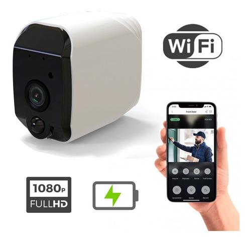 Imagen 1 de 6 de Cámara Ip Wifi Full Hd 1080p 2mpx Pir Batería Inalámbrica