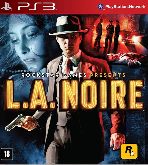 L.a Noire - Psn Ps3 Play 3 Pronta Entrega