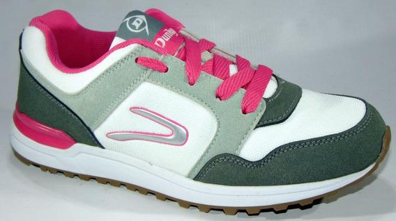 Zapatillas Deportivas Dunlop Art 2724 Ideales Para Caminar