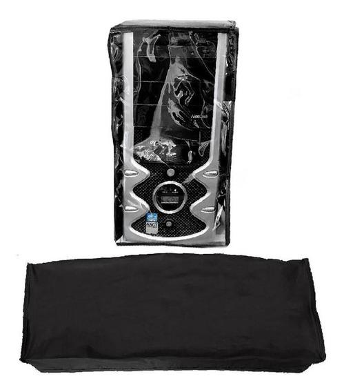 Capa Plástica Kit Cpu Atx E Teclado Apparatos