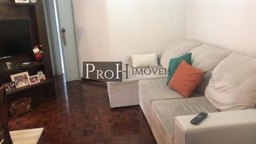 Imagem 1 de 15 de Apartamento Para Venda Em São Caetano Do Sul, Santa Paula, 2 Dormitórios, 1 Banheiro, 1 Vaga - Caddea