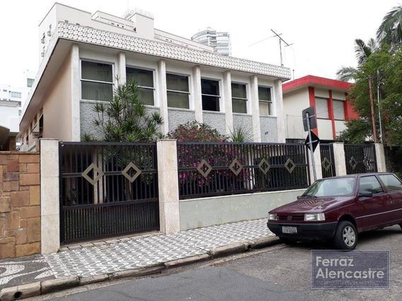 Casa Com 3 Dormitórios À Venda, 499 M² Por R$ 3.500.000,00 - Ponta Da Praia - Santos/sp - Ca0014