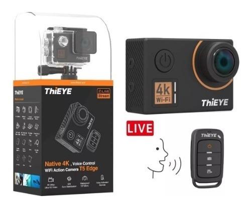 Cámara De Acción Thieye T5 Edge 4k+ Wifi