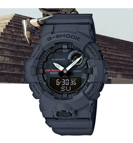 Relógio Casio G-shock G-squad Gba-800-8adr Cinza Escuro