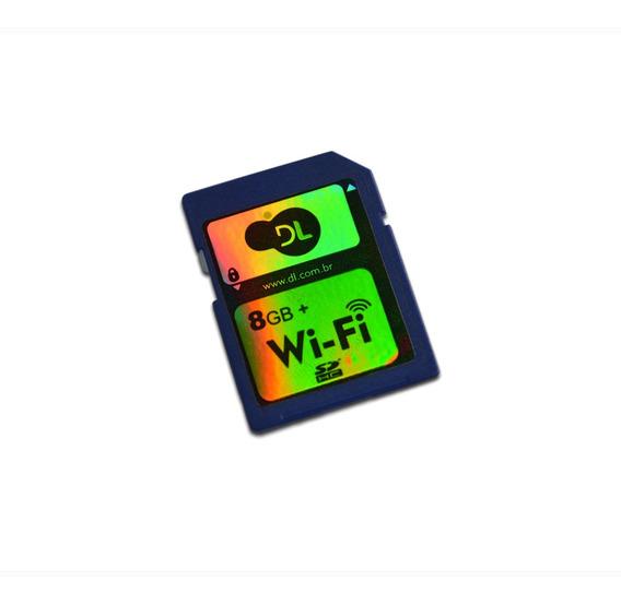 Cartão Sd Com Wi-fi Integrado Dl Cw-300 8gb