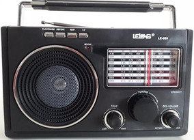 Rádio Am Fm Sw19 Bateria Pilhas Energia Entrada Fone Ouvido