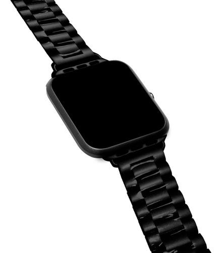 5 Pulseras De Metal Compatible Con Apple Watch Medida 42/44