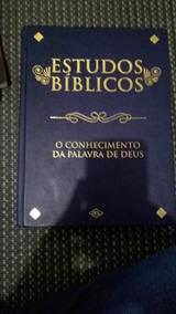 Livro Estudos Biblicos