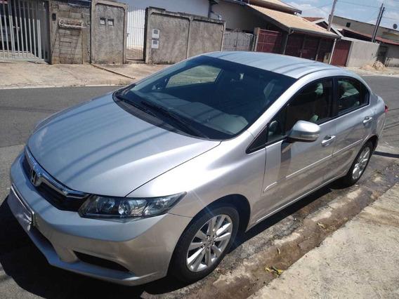 Honda Civic 1.8 Lxl Flex Aut. 4p 2013