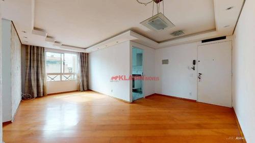 Imagem 1 de 24 de Apartamento Com 2 Dormitórios À Venda, 62 M² Por R$ 275.000,00 - Vila Santa Teresa (zona Sul) - São Paulo/sp - Ap10266