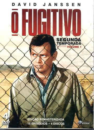 Dvd O Fugitivo 2ª Temporada Volume 1 - Bonellihq L19