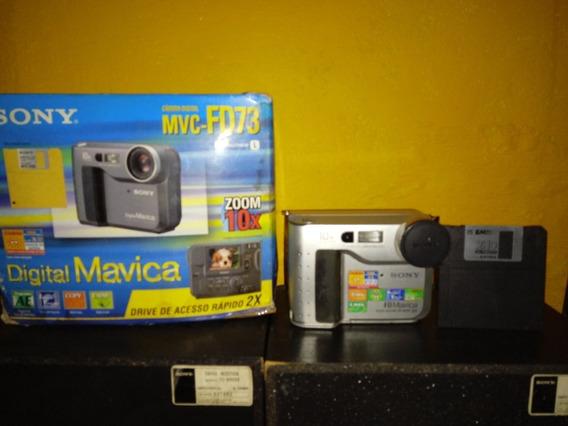 Maquina Fotográfica Sony ,mvc -fd73