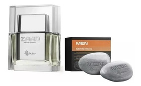 Combo Zaad Eau De Parfum + Men Sabonetes Perfumados, 2 Unid.