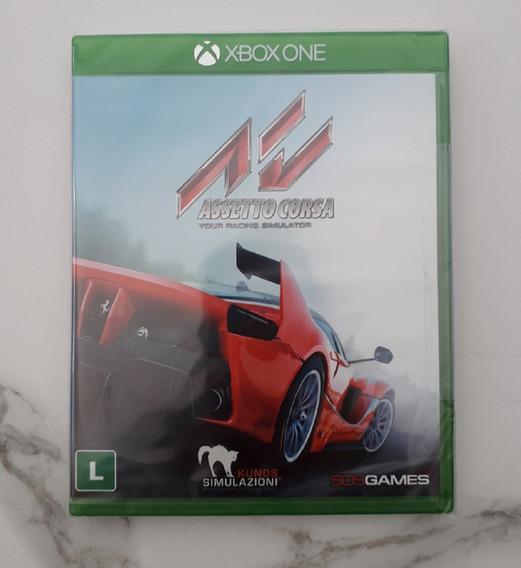 Jogo Corrida Assetto Corsa Xbox One Dublado Português Novo