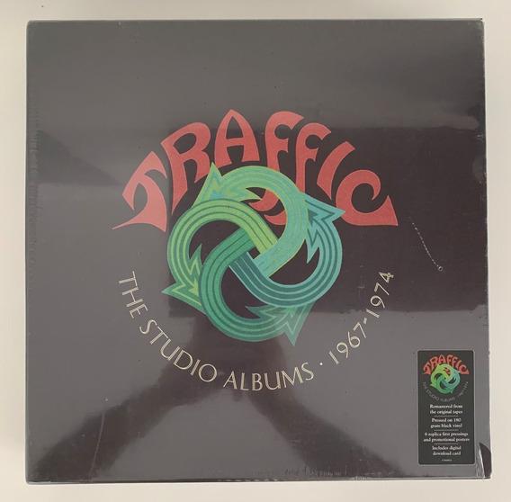 6 Lps Vinil Box - Traffic The Studio Albums 1967-1974 (2018)