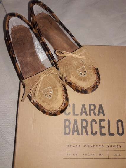 Clara Barcelo - Mocasines Dama Talle 40.