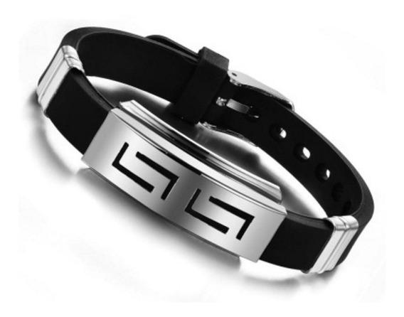 Pronta Entrega Pulseira Ajustável Bracelete Aço 316l