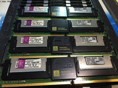 Kit 64gb Pc2-5300f Dell Poweredge 1950 1955 2900 2950 Iii