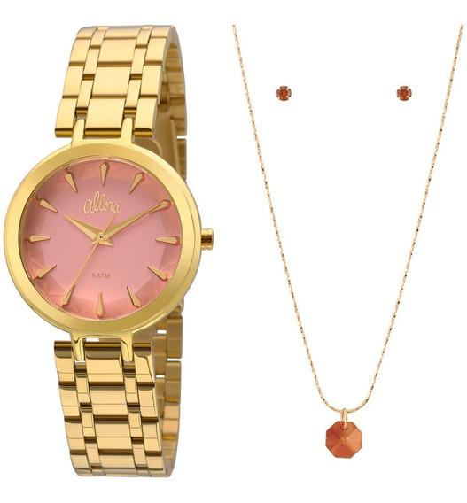 Relógio Allora Feminino Al2036fll/k4t