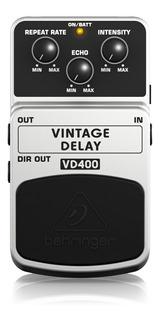 Pedal Vintage Analogo Delay Behringer Vd400 + Garantía