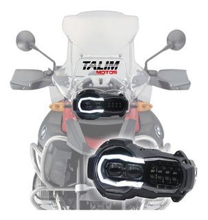 Farol Bauleto Led Bmw R 1200 Gs R1200gs Adv 04 Até 2012