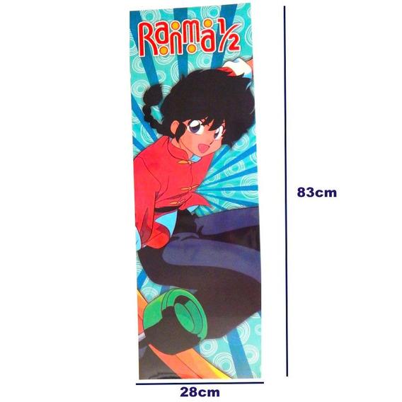 Ranma 1/2 Y Medio Poster Largo Patineta