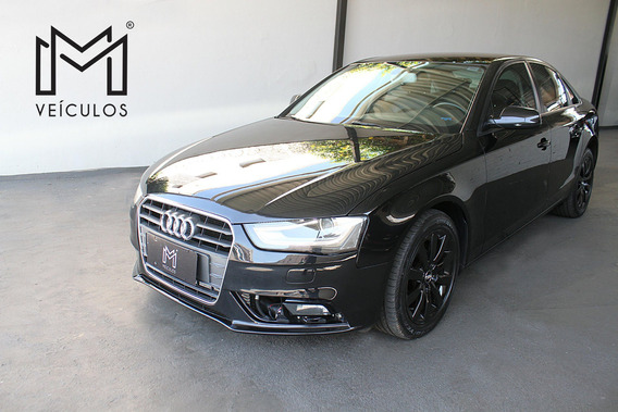 Audi A4 2.0 16v Tb Fsi Multitronic Preto 2014