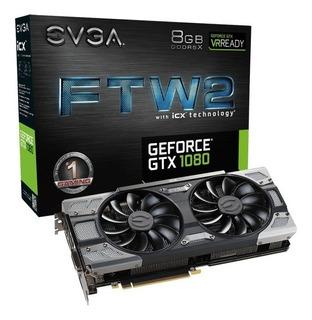Tarjeta De Vídeo Nvidia 1080 8gb Evga Gtx Ftw2 Gaming