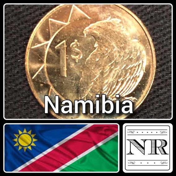 Namibia - 1 Dolar 2010 - Km # 4 - Aguila