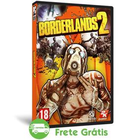 Borderlands 2 Pc Mídia Física Jogo Tiro Fps (dvd) + Dlc