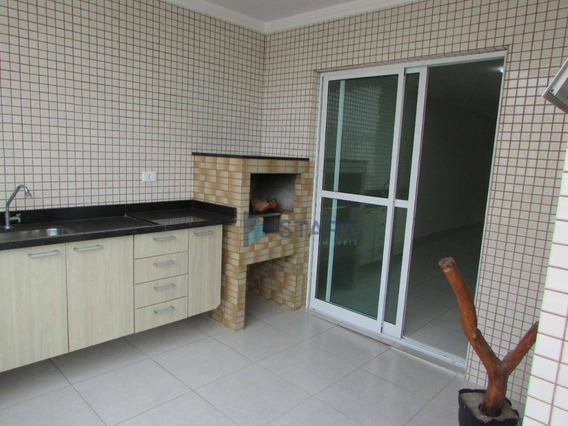 Apartamento Com 3 Dormitórios À Venda, 122 M² Por R$ 465.000 - Boqueirão - Praia Grande/sp - Ap6746