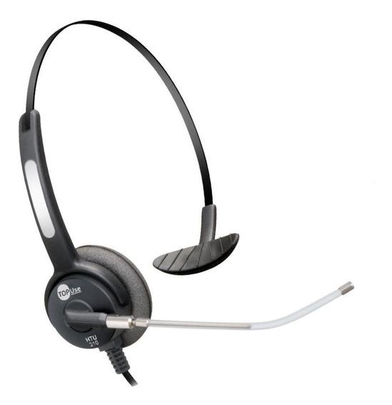 Lote 15pçs Headset Usb Voip C/ Tubo De Voz Removível Htu-310