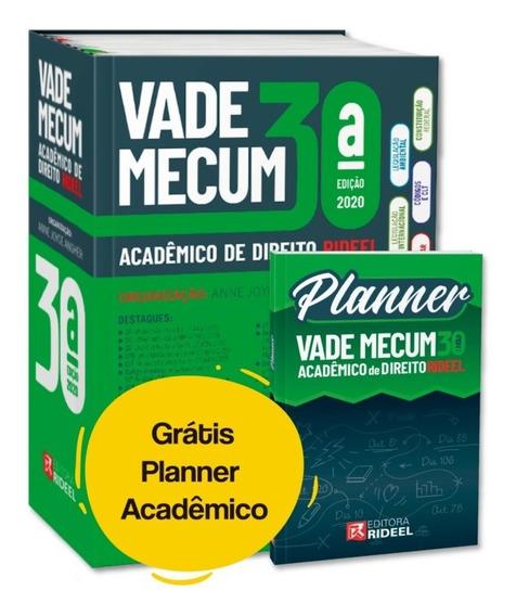 Vade Mecum Acadêmico Direito Rideel Última Edição + Brinde