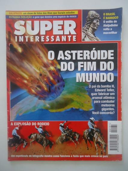 Super Interessante #131 Asteróides - Galápagos - Rodeio