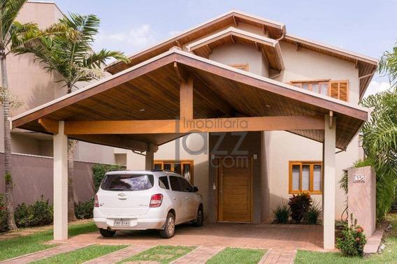Casa Residencial À Venda, Barão Geraldo, Campinas. - Ca3308