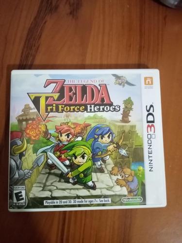 Videojuego Zelda Tri Heroes