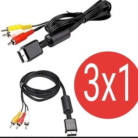 3 Unidades Cable Play Station  1 2 3  Oferta Mayor Y Detal