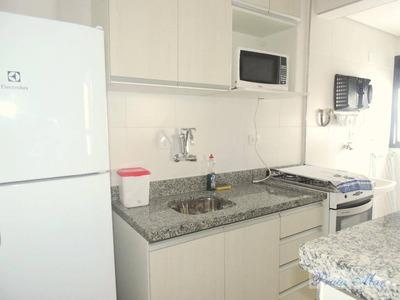 Flat Residencial Para Locação, Pitangueiras, Guarujá. - Fl0103