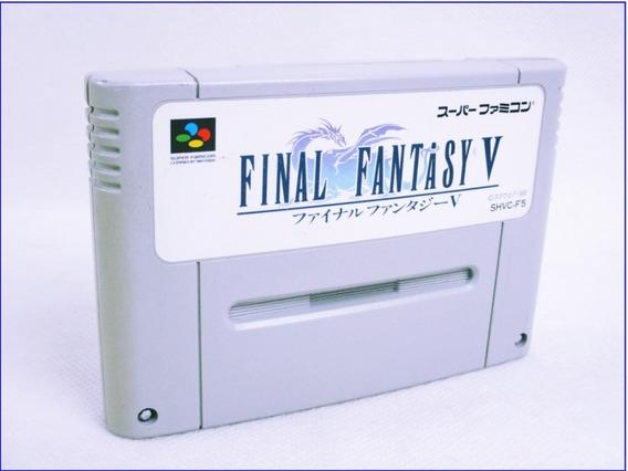 Fita Original Final Fantasy 5 Super Nintendo - Famicom