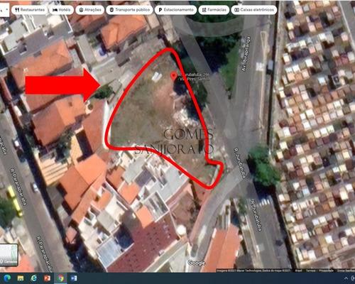 Imagem 1 de 2 de Terreno Para Venda Na Vila Pires Em Santo André - Sp - Te00095 - 70087057