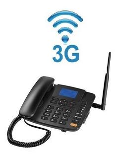 Celular Rural Telefone Fixo Com Fio Antena Embutida 3g Modem