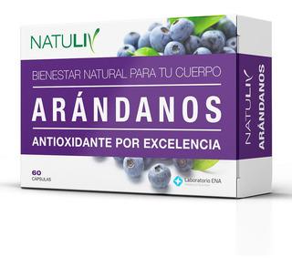 Arandanos 60 Caps Natuliv Antioxidante Vitamina C