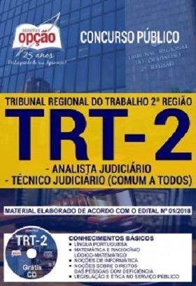 Apostila Trt-sp 2018- Analista E Técnico Judiciário Comum A
