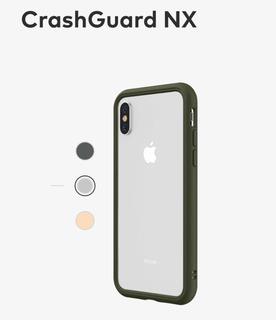 Capa Bumper Rhinoshield Crashguard Nx iPhone X & Xs