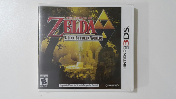 Zelda A Link Between Worlds Nintendo 3ds Original Lacrado