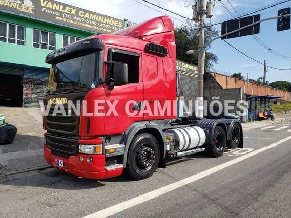 Scania G420 6x2 Com Ar Cond G 420 Ñ G360 440 R440 P360